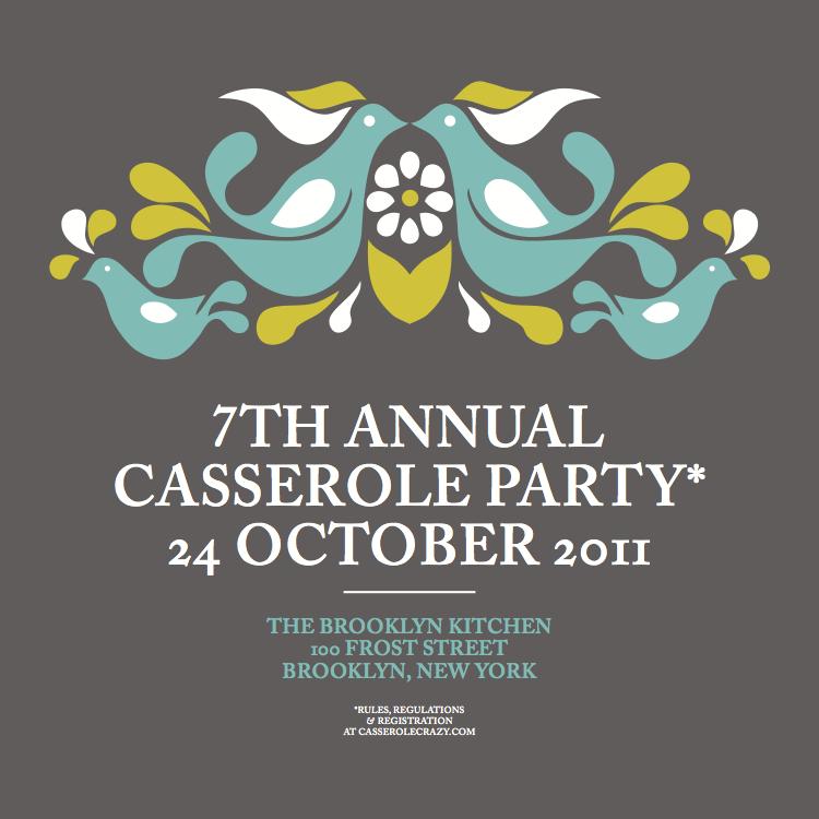 The Brooklyn Casserole Party | Casserole Crazy